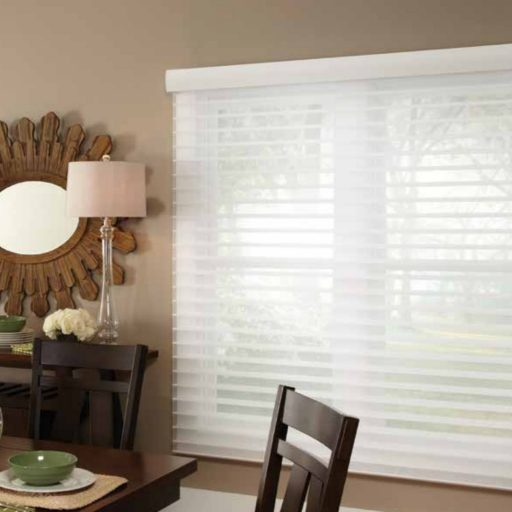 Unique Horizontal Sheer Blinds - Soft, elegant, light-filtering